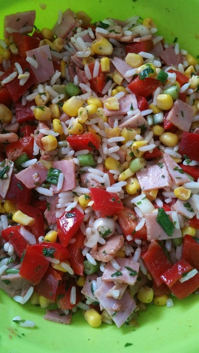 german rice salad
