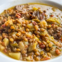 German Lentil Soup - Authentic Recipe