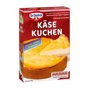 german cheese cake baking mix