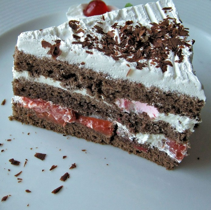 authentic german black forest cake