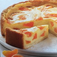 German Mandarine Orange Sour Cream Cake