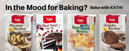 Kathi baking mixes made in germany