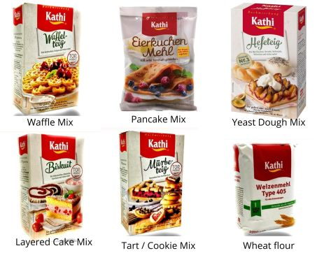 kathi baking mixes for german cakes
