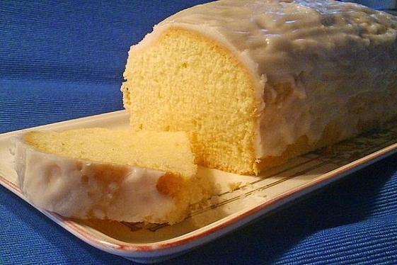 glutenfree vegan lemon pound cake