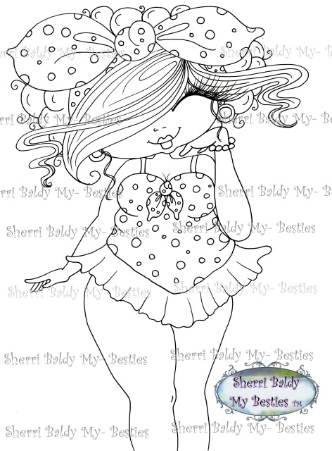 Magic Wand Coloring Page Stock Illustration
