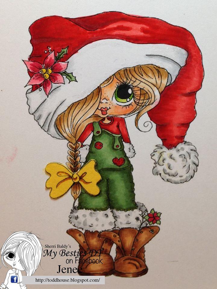 Christmas Bestie Remix A Sherri Baldy Digi Stamps