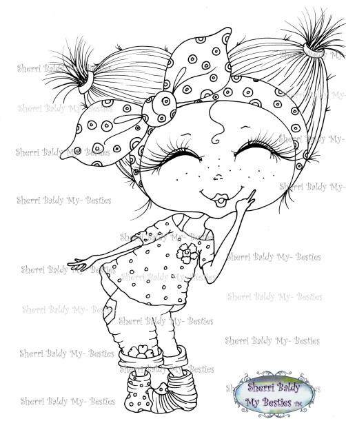 Summer FUN! Bestie img107 Instant download Sherri Baldy My
