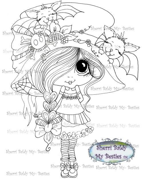 Happy Fall/Halloween Bestie img017 Instant download Sherri