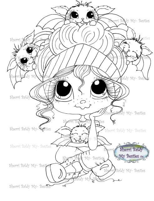 Happy Fall/Halloween Bestie img016 Instant download Sherri