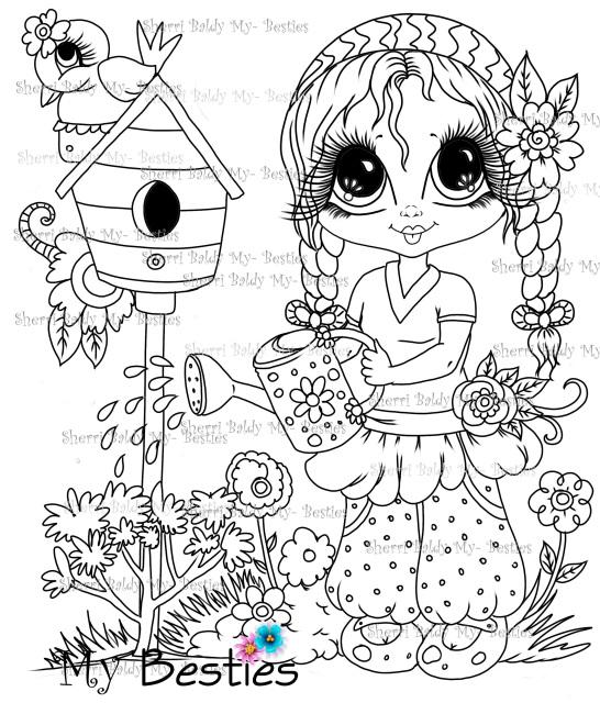 Summer FUN! Bestie Doll Img12 Instant download Sherri