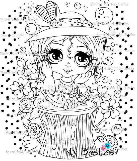 Summer FUN! Bestie Doll Img25 Instant download Sherri