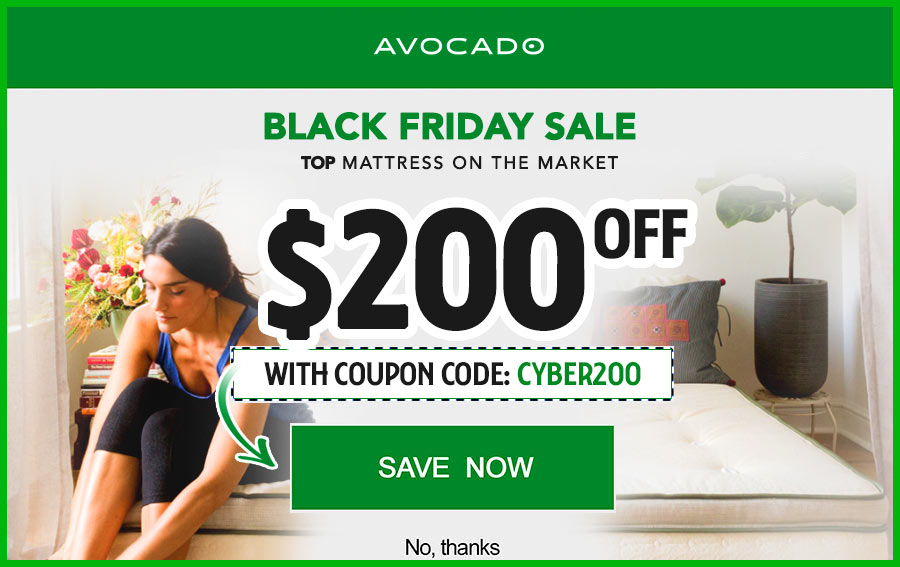 exclusive avocado mattress coupon codes
