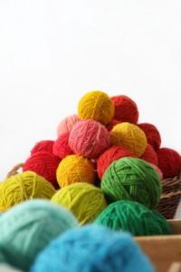 yarn in apile