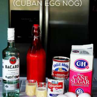 Crema de Vie (Cuban Egg Nog) Recipe