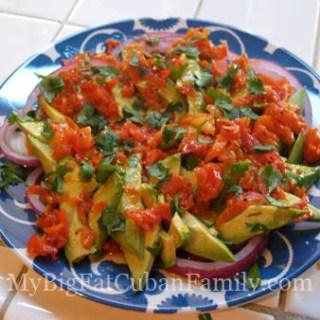 Avocado Salad (Cuban Style) Recipe