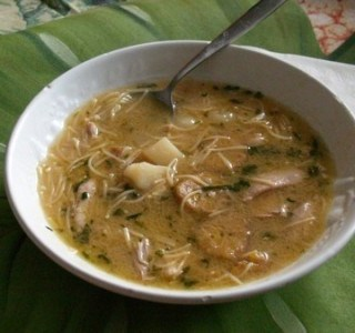 Cuban Cold Remedy: Homemade Cuban Chicken Soup (and VapoRub on your feet?)
