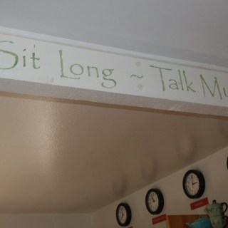 Sit Long. Talk Much.