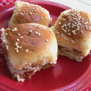 Elena Ruz Turkey, Guava & Cream Cheese Sliders Recipe