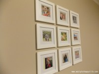 Arranging Multiple Picture Frames on the Wall - My Big Fat ...