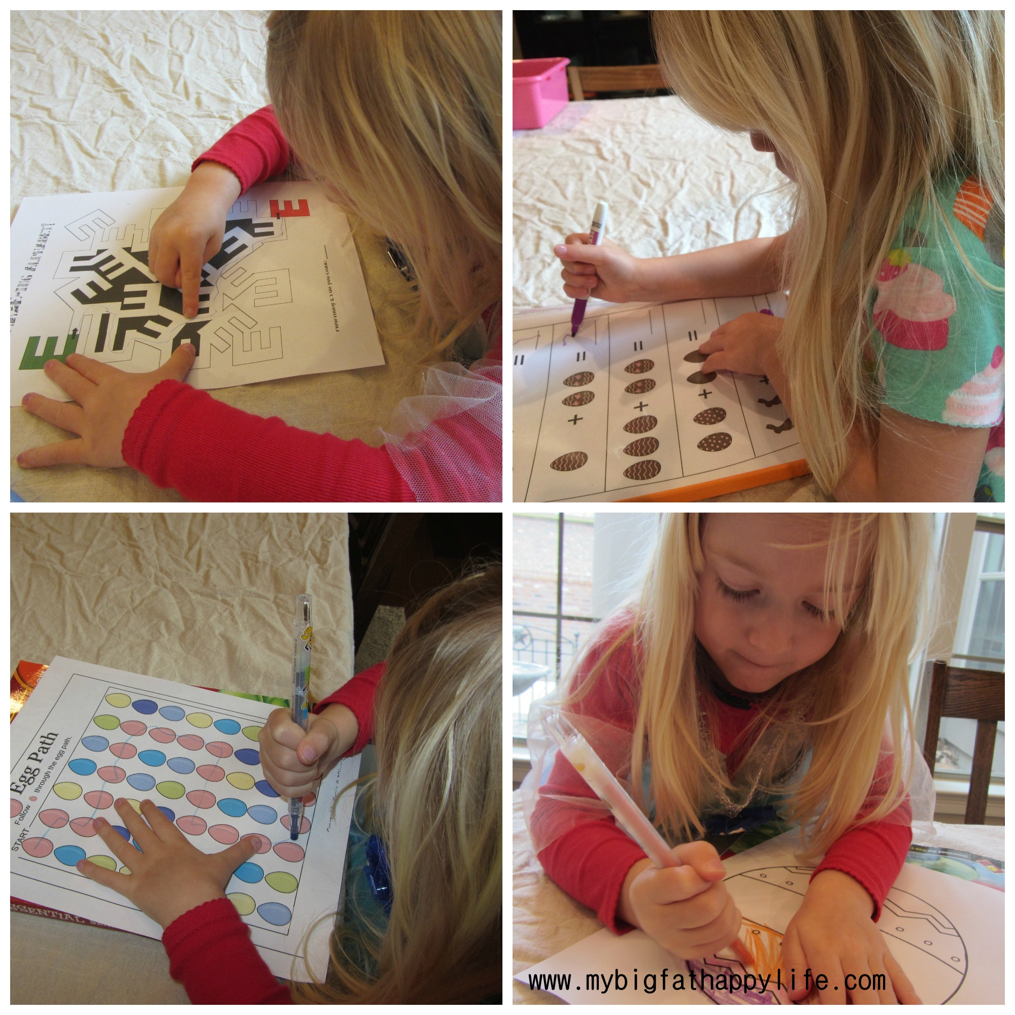 Early Learning Letter E