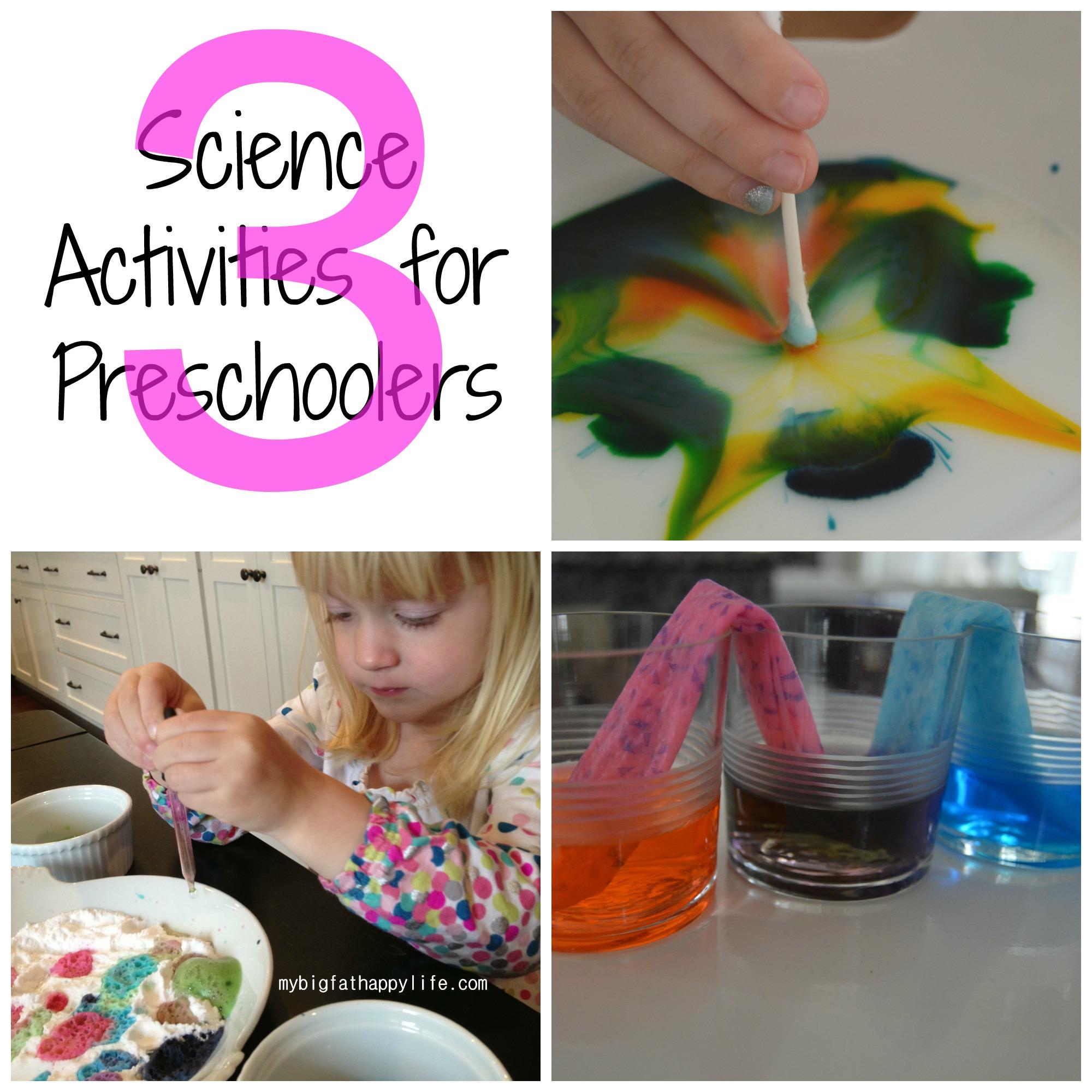 3 Science Activities For Preschoolers