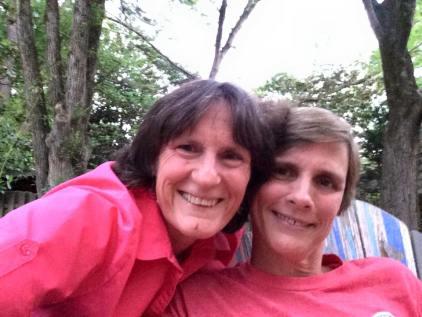 With Becky Rentz