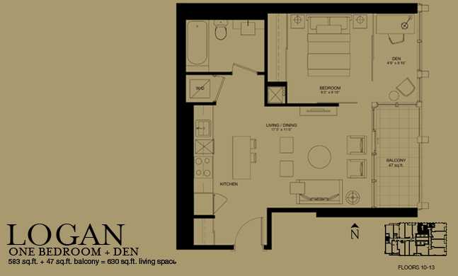 Bisha Logan 1 1 583sqft Bisha Hotel Residences At 88 Blue Jays Way
