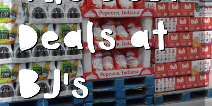 BJs Wholesale Best Deals at the club