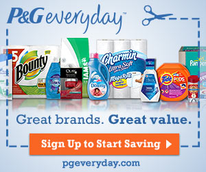 free samples from P&G
