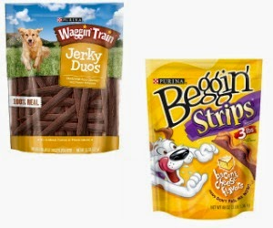 High-Value Coupons! Save $3 on Waggin' Train Dog Treats and Purina Beggin' Dog Treats