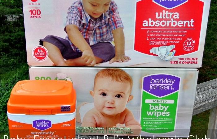 Save Money on Baby Essentials with Berkley Jensen Diapers, Wipes + Formula