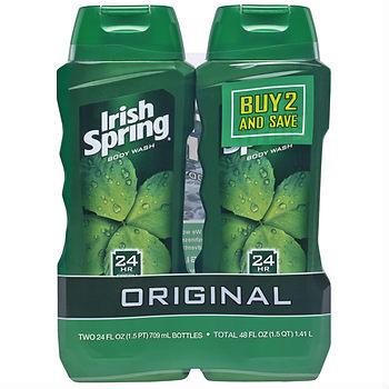 Irish spring body wash deal
