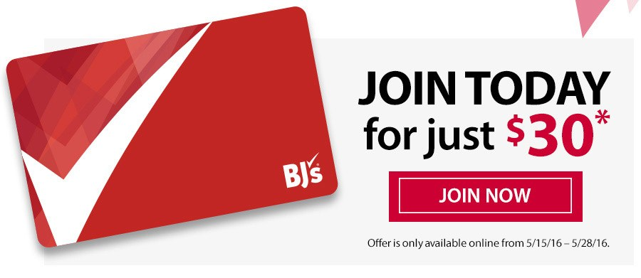 $30 year bjs membership discount renew
