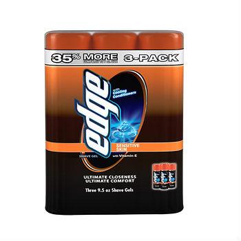 edge shave gel deal at BJs Wholesale