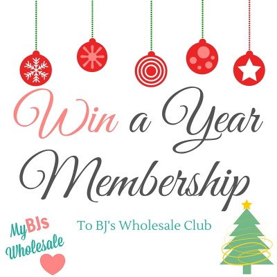 win a $50 BJs Wholesale Club Gift Card- Free Year Membership