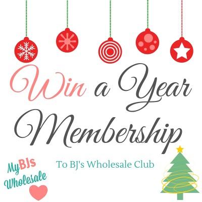 win a $50 BJs Wholesale Club Gift Card- Free Year Membership