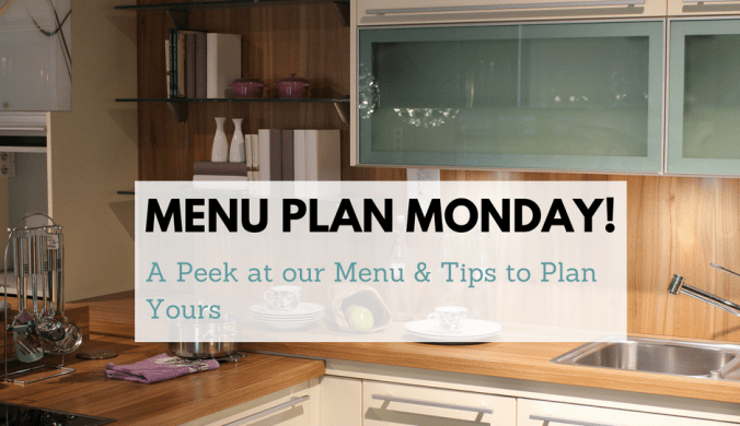 menu plan monday Bjs items cheap