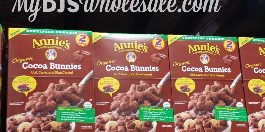 Huge Savings on Annie's Organic Chocolate Bunnies Cereal