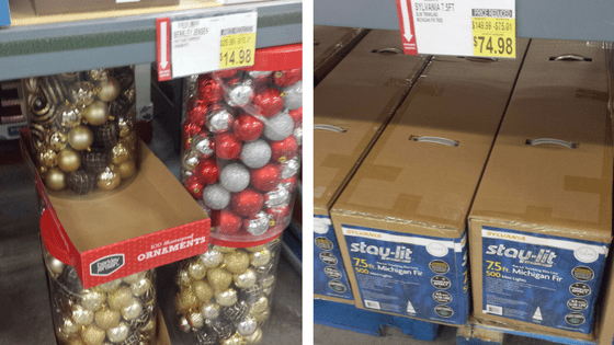 Christmas markdowns