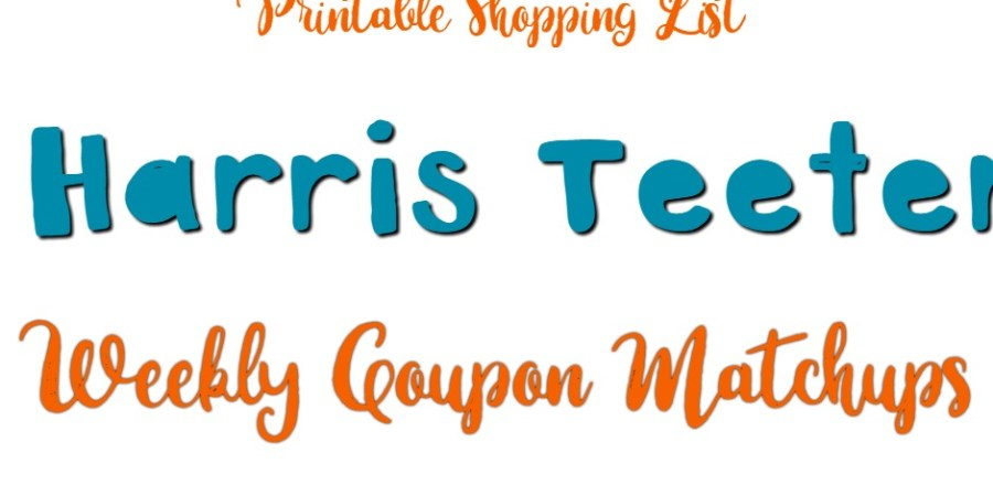 Harris Teeter Weekly Deals