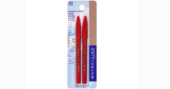 maybelline eye brow pencils free at target