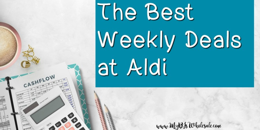 The best deals at Aldi weekly