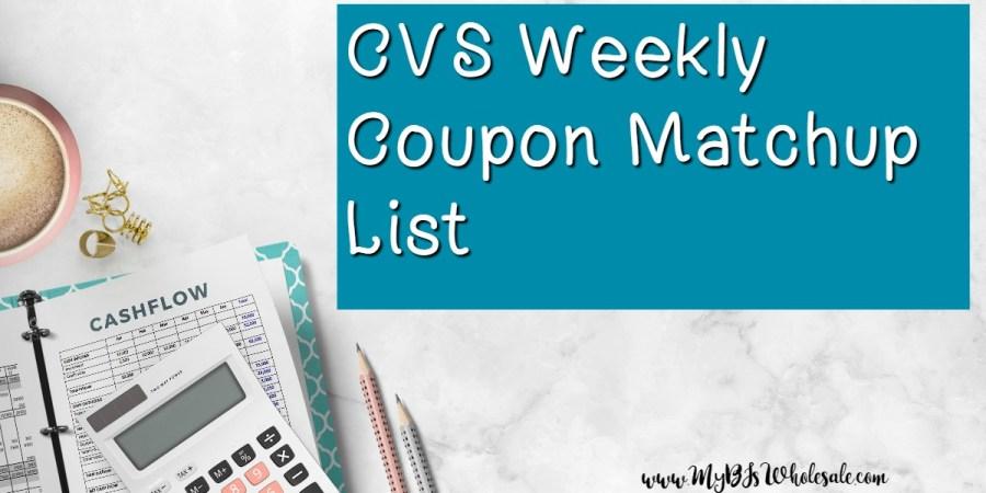 cvs weekly coupon matchups and deals