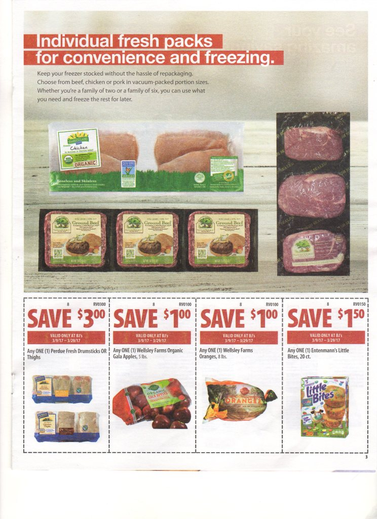 BJ's Wholesale Front of Club Coupons