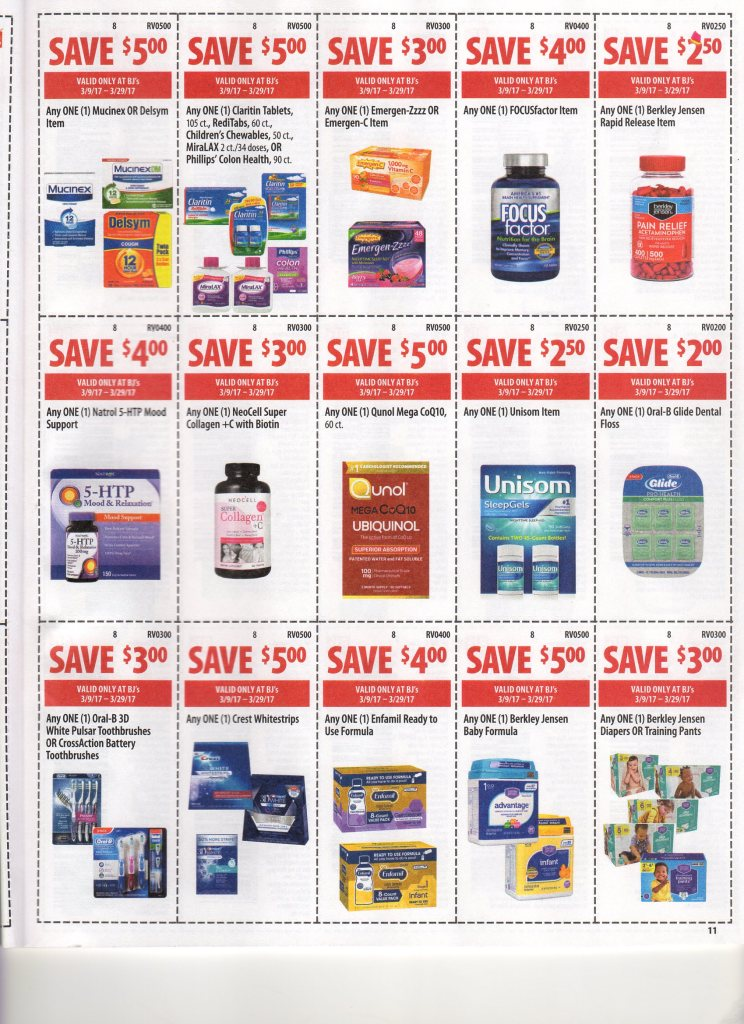 BJs Wholesale Front of Club Coupons