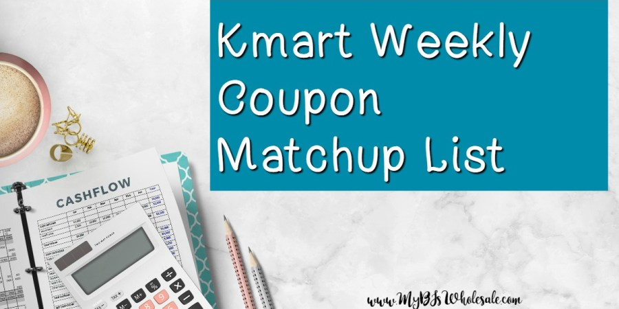 Kmart Weekly Coupon Matchups