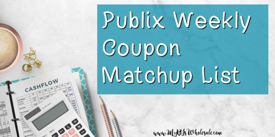 Publix Weekly Coupon Matchup list and deals