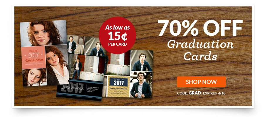 York Photo Graduation Cards Deal