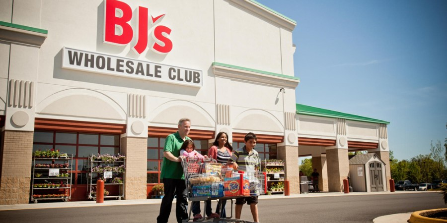 Amazon and walmart buying BJs wholesale club