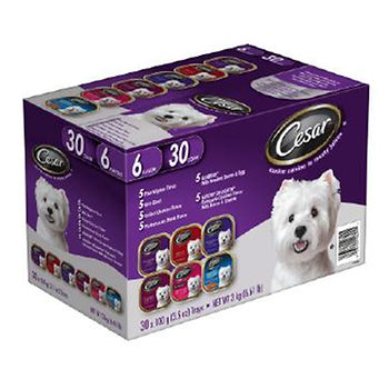 cesar canine dog food tray price at BJs Wholesale club